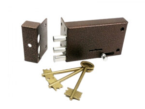 Замок накладной ЗН4-3 правый (3 ключа) Электротехника (12)