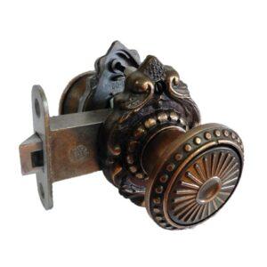 Защелка дверная ЗЩ-2Д бронза КУРСК (20)